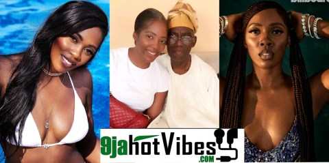 Tiwa Savage Visits Her Late Father's House Following His Demise (VIDEO)