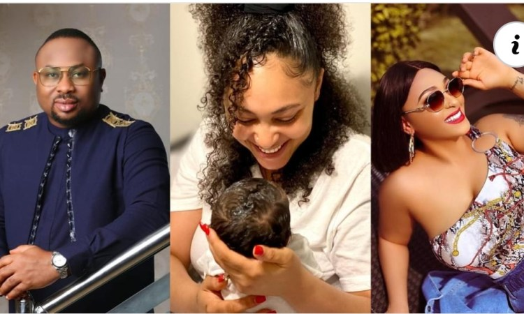 My Super Woman - Olakunle Churchill Says As He Celebrates His wife, Rosy Meurer