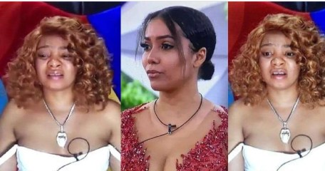 """#BBNaija: """"Maria I'm very sorry"""" – Queen apologizes, says she blames herself for Maria's eviction (video)"""