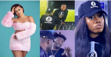 """#BBNaija: """"Angel can't talk to me anyhow outside the house"""" – Liquorose reacts to the Boma-Angel fight (VIDEO)"""