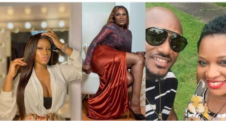 """""""It's very disrespectful to post photo of your married baby daddy"""" – Ese Eriata berates 2Baba's baby mama, Pero"""
