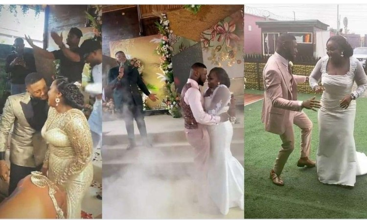 Sweet Love : See Photos and videos from the wedding of actors Stan Nze and Blessing Obasi