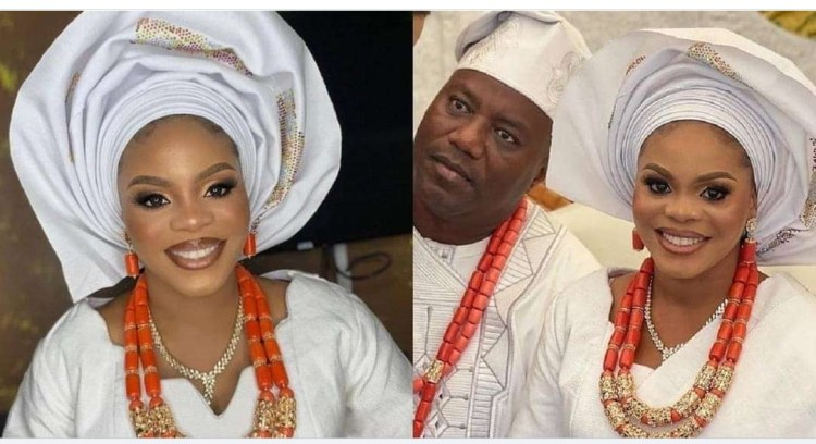 """Having a good wife is a great blessing"""" – Actress Mercy Aigbe's ex-husband says, as he ties the knot again"""