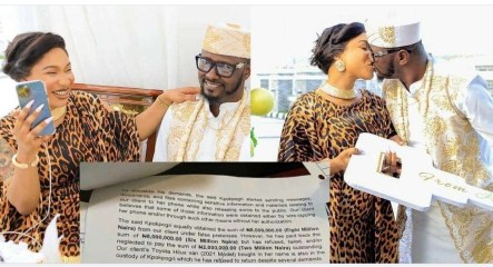 """You rubbished first man you married, you think you can play same game with me"""" – Kpokpogri shades Tonto Dikeh (video)"""