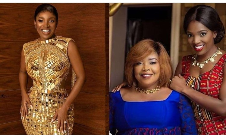 """""""For every lie against you, karma is real"""" – Actress, Annie Idibia writes as she celebrates her mum"""