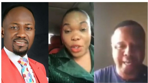 Pastor Mike Davids Accuses Apostle Suleman of Adultery with Wife - Audio Clip
