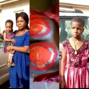 (VIDEO) Woman Paraded for Burning her little Maid's Body with Fire
