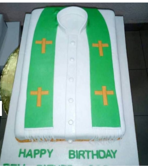 Beautiful Birthday Cakes for Priest Rev Father and Pastors