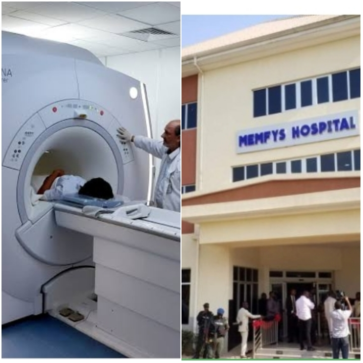 Cost of CT and MRI Scan at Memfys - in Nigeria 2021