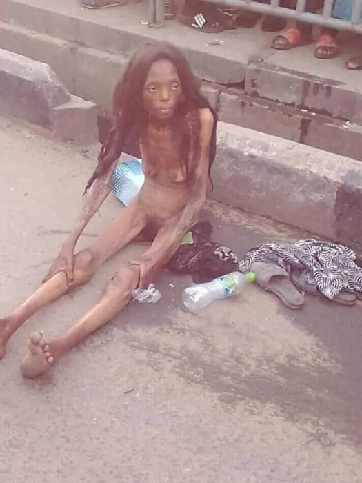 Shocking!! See Terrible Thing That Happened To A Lady After Been Dropped By A Car In Ajah (photo)