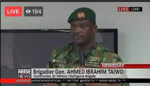 Governor Babajide Sanwo-Olu invited the Army to intervene in the #EndSARS protest - Brigadier-General AI Taiwo (video)