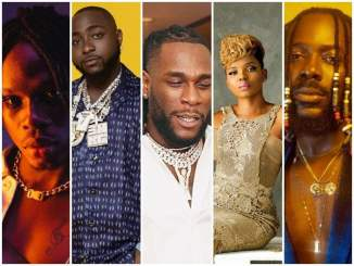 "Fireboy, Davido, Burna Boy, Adekunle Gold & Yemi Alade's Get Headies ""Best Pop Album"" Nomination – Who Deserves To Win?"