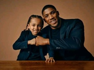 Anthony Joshua shares photos with his son to celebrate Father's Day