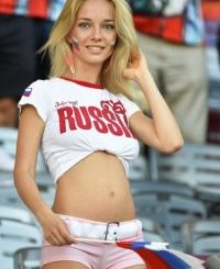 Burden of a sexy model who stole the show at Russia 2018