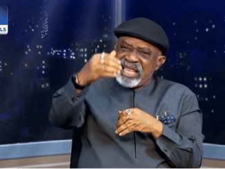 """""""Can Obasanjo grant you guys this latitude?""""- Labor Minister, Chris Ngige, tackles Nigerians who always attack President Buhari and see him as a """"willing horse"""" to be ridden to death"""