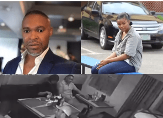 CCTV Footage of Chidinma Ojukwu and SuperTV CEO, Usifo Ataga at a restaurant before she allegedly killed him (video)
