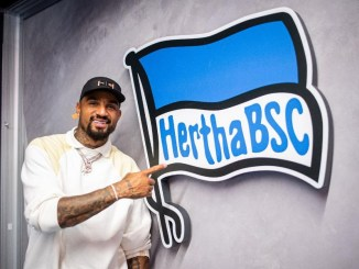 Former Barcelona striker, Kevin Prince Boateng joins Hertha Berlin, the 16th transfer move of his career
