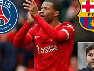 Former Liverpool star, Georginio Wijnaldum signs three-year contract to join PSG rather than Barcelona