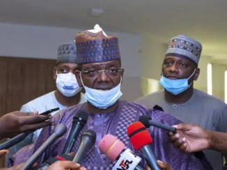 Governor Matawalle formally defects to APC, declared leader of the party in Zamfara