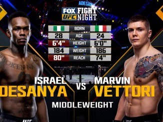 Israel Adesanya retains title with decisive performance against Marvin Vettori