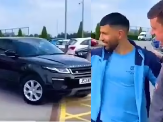 Manchester City kit man who won Sergio Aguero's £40k Range Rover in a raffle arranged by striker is selling off the car for £23k