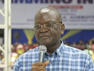 ''This is diversionary and ill-advised''- Benue governor, Samuel Ortom, reacts to ban on Twitter operations