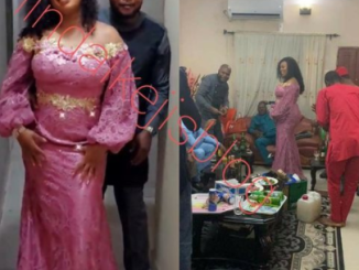 Ubi Franklin's ex, Sandra Iheuwa, shades the ex who told her no man will marry her as she does her introduction ceremony (photos)