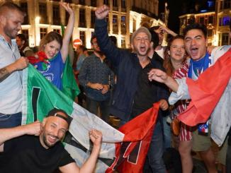 Euro 2020: Italy erupts in celebration after Euro soccer triumph