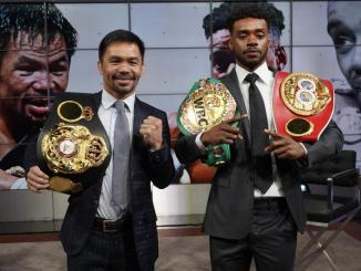 Manny Pacquiao announces Aug. 21 fight with Errol Spence Jr