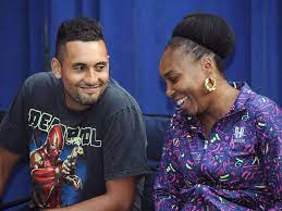 """Nick Kyrgios playing with Williams """"a dream come true."""""""