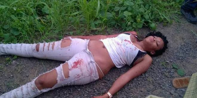 Young Lady Murdered, Dumped By The Roadside In Cameroon