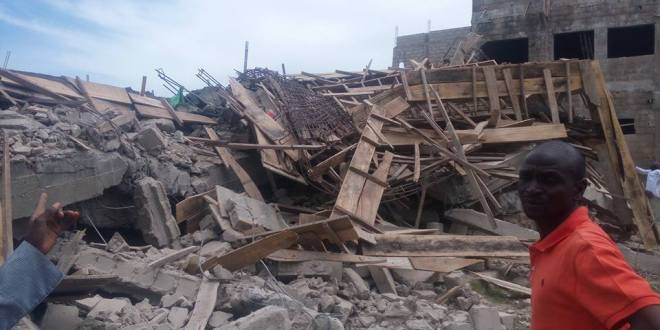 Building Collapses In Kano State University Of Science & Technology