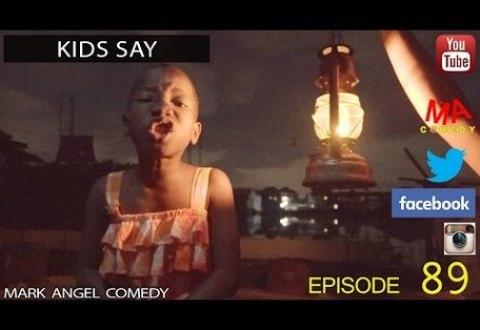COMEDY VIDEO: Mark Angel X Emmanuella – KID SAY (Episode 89)