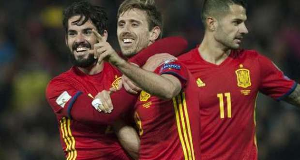 WCQ VIDEO: Spain 4 – 0 FYR Macedonia All Goals & Highlights