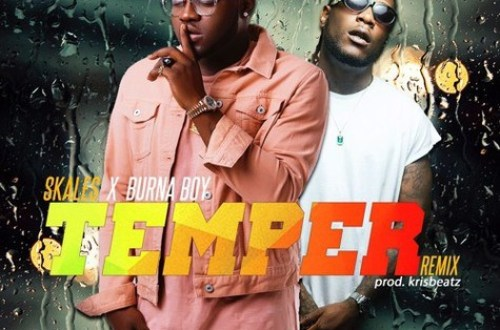 Skales – Temper (Remix) Ft. Burna Boy