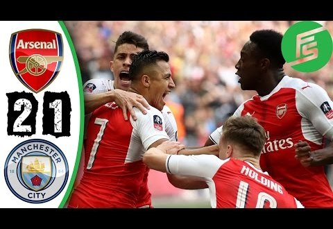 FA CUP VIDEO: Arsenal vs Manchester City 2-1 (Semi Final) All Goals & Highlights 2017