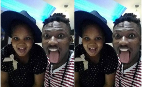 BB Naija: Cute photo of Efe and Bisola's daughter