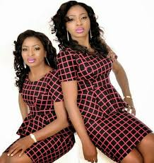 Photos: Aneke twins pose in matching outfits with their mum