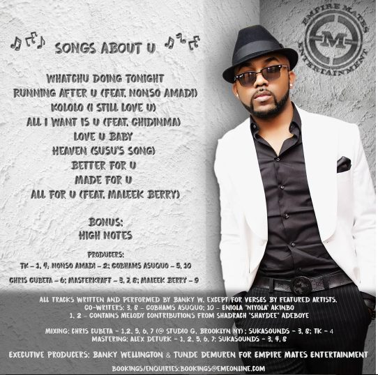 Banky W – Whatch U Doing Tonight