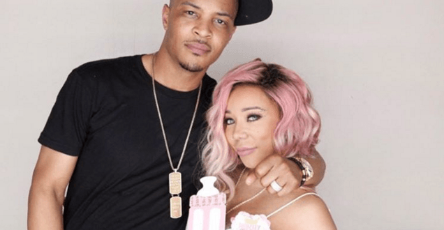 T.I and Tiny come for each other's head online