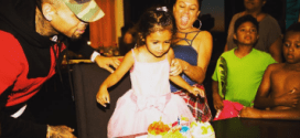 Pictures from the 3rd birthday party of Chris Brown's daughter, Royalty