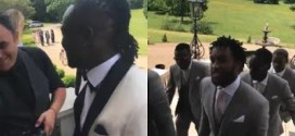 Footballer Victor Moses gets married to long time partner in private ceremony (photos)