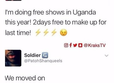 Savage reply to Wizkid from a Ugandan