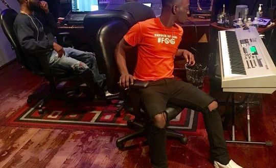 Dammy Krane pictured in Miami studio as he prepares to appear in court on Friday