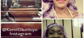 Photos: Kemi Olunloyo awarded Gold medal at Nigerian Prison Sports festival
