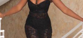 Photos: Tiwa Savage slays in black lace dress