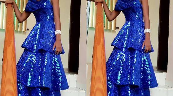 Mercy Aigbe's daughter stuns at her school's graduation thanksgiving (Photos)