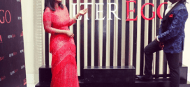 Check out Omotola Jalade's daughter and son's outfit to her movie premier (Photos)