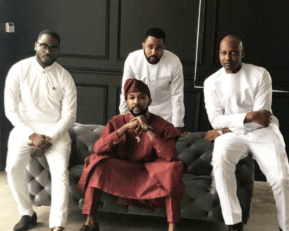 This is why Banky W and his family had another wedding introduction shoot in the US