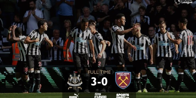 Newcastle United vs West Ham United  3:0 – All Goals & Highlights #PremierLeague 26-08-2017